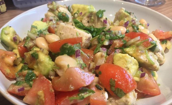 Chicken and Butter Bean SalsaSalad